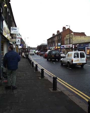 Gosforth High Street looking north