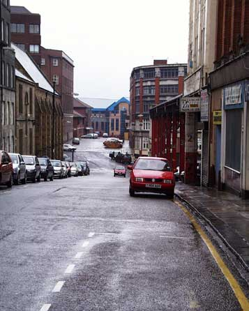 Worswick Street looking east
